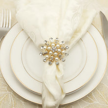 Load image into Gallery viewer, Wedding, Christmas, Party Napkin Ring 10 Pieces/Lot