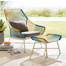 Load image into Gallery viewer, Modern Design Rattan Chair for Gardens and Balconies