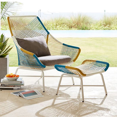 Modern Design Rattan Chair for Gardens and Balconies