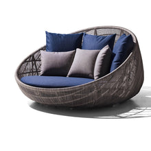 Load image into Gallery viewer, Rattan lounge bed