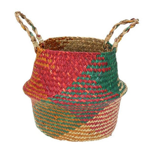 Handmade Bamboo Storage Baskets in different sizes