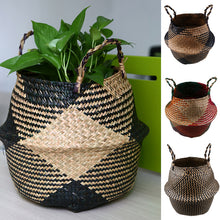 Load image into Gallery viewer, Foldable Handmade Storage Basket