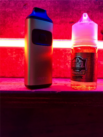 Vape Dojo Aspire Breeze Charlie's Custard (Vanilla with Baked Crust)