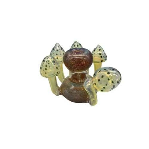"GreenSt Wellness - 6""x4"" Mushroom Family Bubbler"