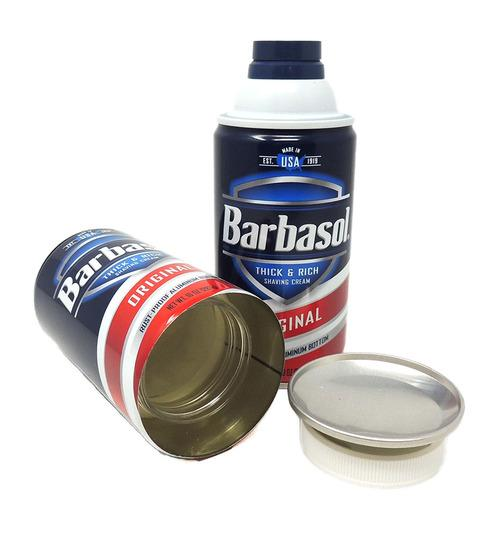 GreenSt Wellness - Barbasol Shaving Cream Can Safe