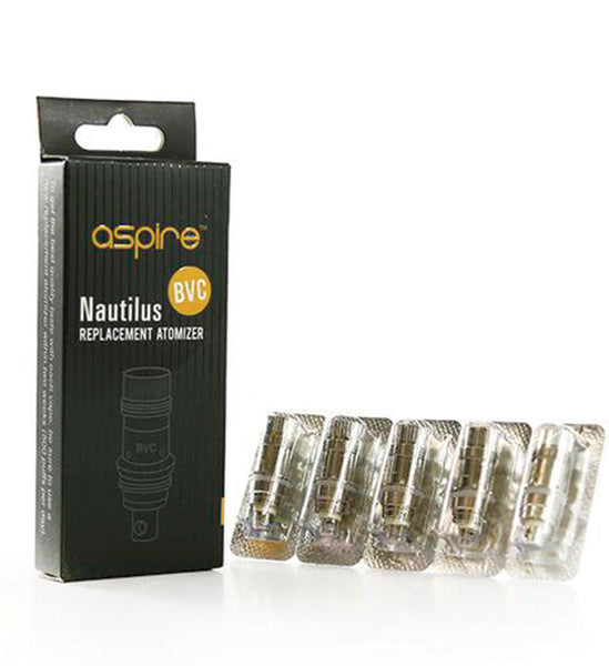 Aspire - Nautilus BVC Replacement Coils 0.7 ohm (5-pack)