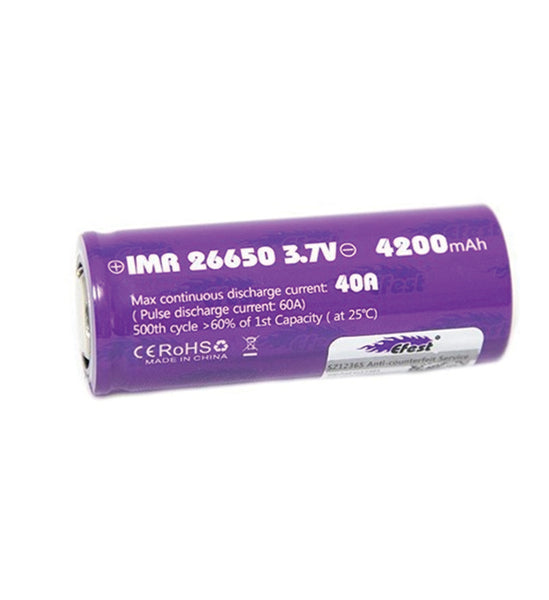 Efest - 26650 50A Battery