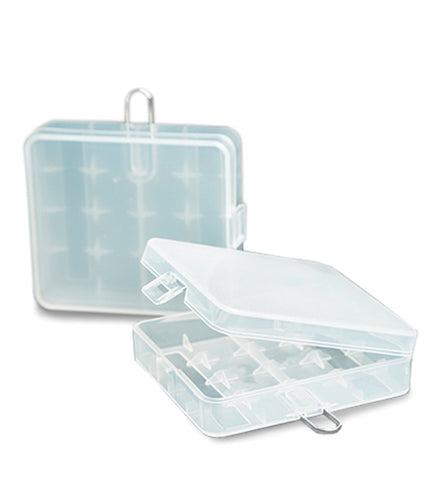 Efest - 4 Bay Battery Case Clear