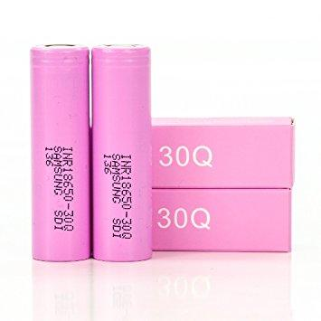 Samsung - 30Q 3000 mAh 18650 Battery