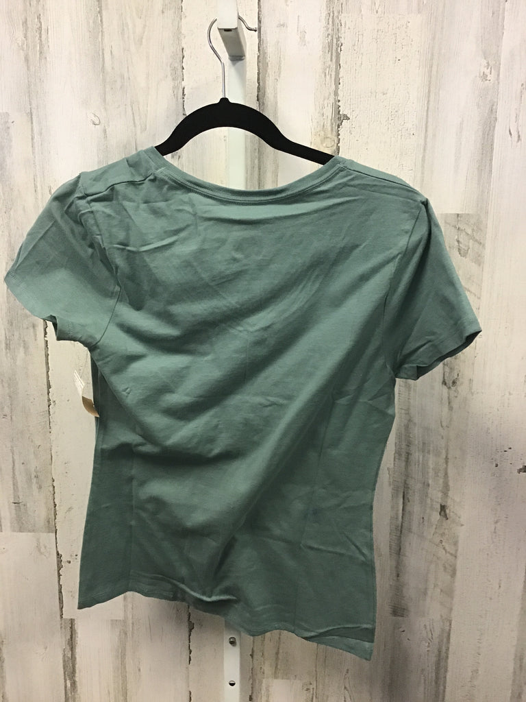 Hanes Size XS Forest Green Short Sleeve Top
