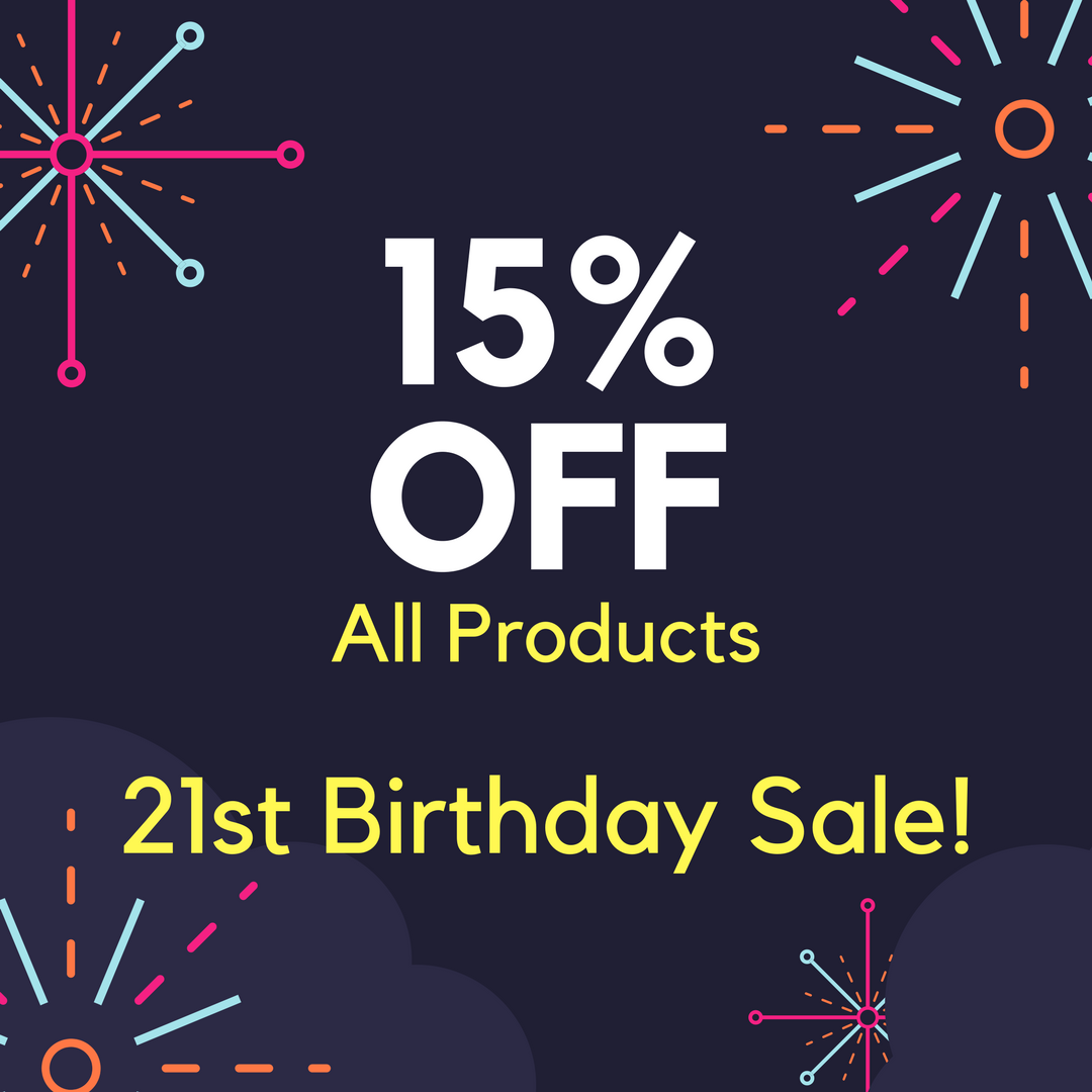MCCruise 21st Birthday sale!
