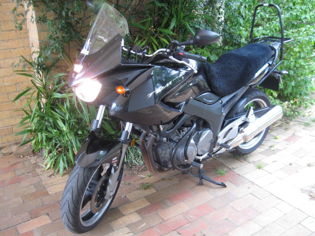 Yamaha TDM900 for sale - setup for around-Australia touring!