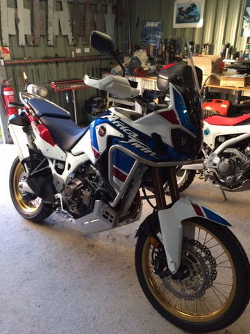 2018 Honda Africa Twin Throttle-By-Wire