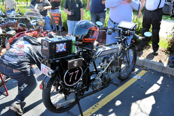No MCCruise on this one!....but it could have!.....1915 Norton 16TT