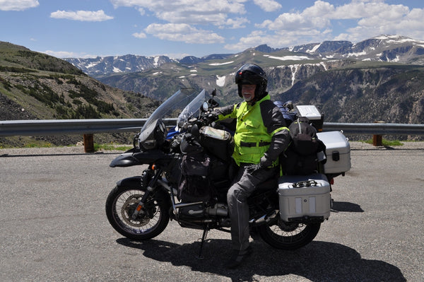 Where in the world is MCCruise? - R1150GSA on the Bear Tooth Highway, southwestern Montana, USA