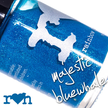 Majestic Bluewhale Nail Lacquer