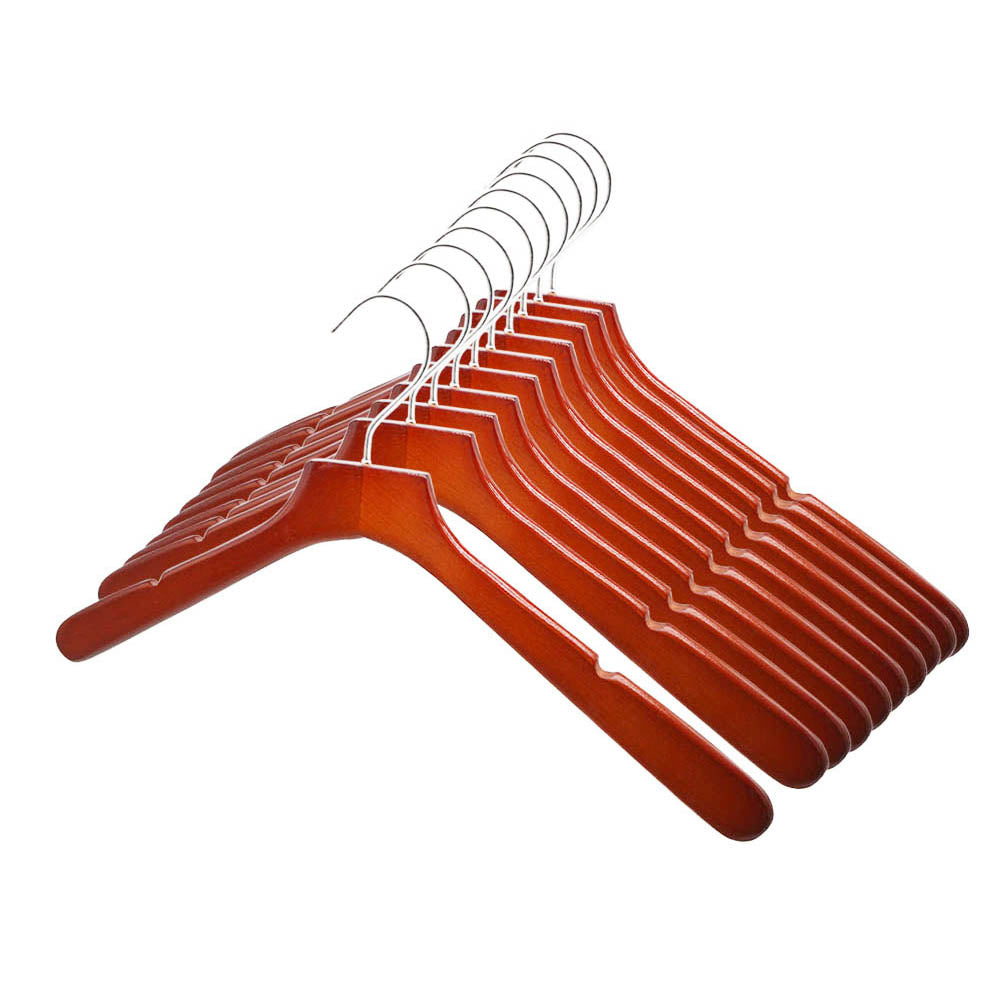 Perfecasa Cherry Coat Hangers 10 Pack