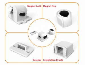 Perfecasa Child Safety Magnetic Locks