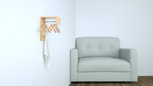 Load image into Gallery viewer, Perfecasa Natural Wall Mounted Coat Rack