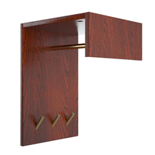 Load image into Gallery viewer, Perfecasa Cherry Wall Mounted Coat Rack