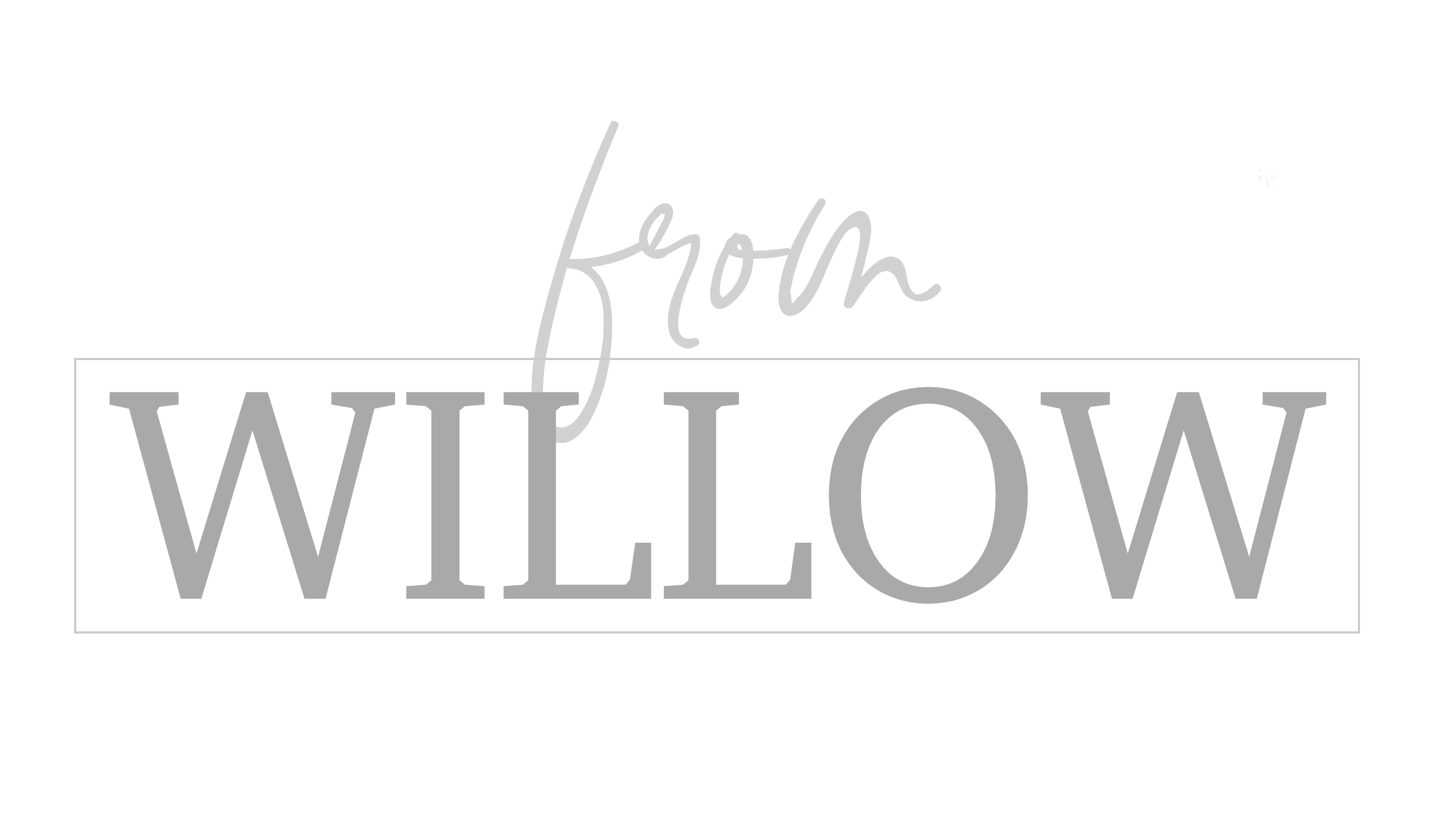 From Willow | Personalised Gifts