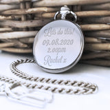 Personalised Engraved Lets Do This Pocket Watch - Shop Personalised Engraved Gifts & Customised Cufflinks | From Willow