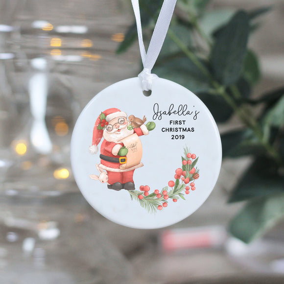 Personalised New Baby Keepsake Ceramic Ornament - Shop Personalised Engraved Gifts & Customised Cufflinks | From Willow