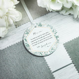 Personalised Mother of the Bride Wedding Ceramic Keepsake Ornament - Shop Personalised Engraved Gifts & Customised Cufflinks | From Willow