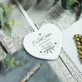 Personalised First Christmas Engaged Ceramic Keepsake - Shop Personalised Engraved Gifts & Customised Cufflinks | From Willow