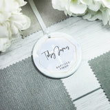 Personalised Baptism Christening Ceramic Keepsake Decoration - Shop Personalised Engraved Gifts & Customised Cufflinks | From Willow