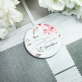 Personalised Mother of the Bride Ceramic Keepsake Ornament - Shop Personalised Engraved Gifts & Customised Cufflinks | From Willow