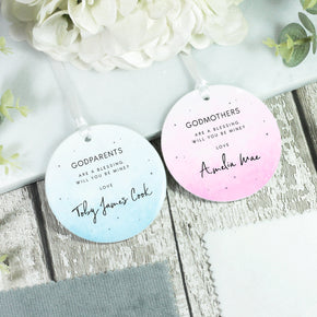 Personalised Godmother Ornament Keepsake Decoration - Shop Personalised Engraved Gifts & Customised Cufflinks | From Willow