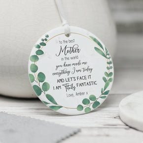 Personalised Mother's Day Ceramic Keepsake - From Willow | Personalised Gifts