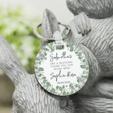Personalised Godmother Thank You Keyring - Shop Personalised Engraved Gifts & Customised Cufflinks | From Willow