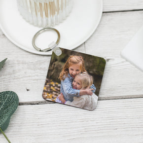 Personalised Custom Photo Image Keyring - Shop Personalised Engraved Gifts & Customised Cufflinks | From Willow