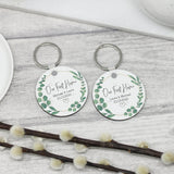 2x Personalised Our First Home Keyrings New Home Keychains - Shop Personalised Engraved Gifts & Customised Cufflinks | From Willow