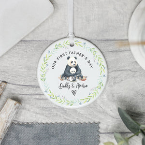 Personalised Panda Themed Father's Day Gift - Shop Personalised Engraved Gifts & Customised Cufflinks | From Willow