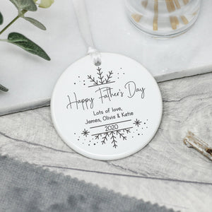 Personalised Father's Day Keepsake Gift - Shop Personalised Engraved Gifts & Customised Cufflinks | From Willow