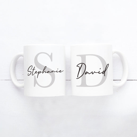 Personalised Initial Mug, Own Name Mug