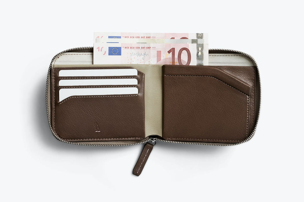 Zip Wallet (Premium) (RFID Protection)