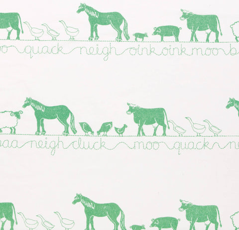 Farm Animals Fabric