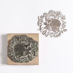 Foxy in the Forest Rubber Stamp