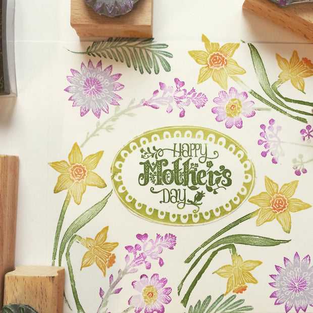 Spring Flowers Stamps