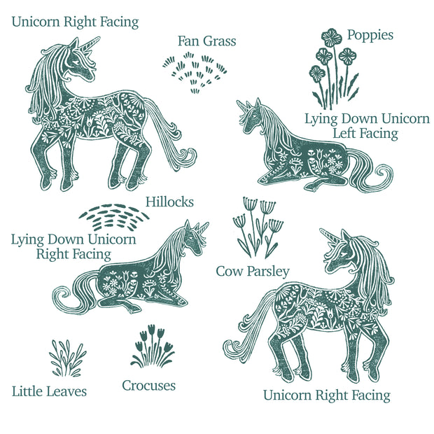 Unicorn Rubber Stamps