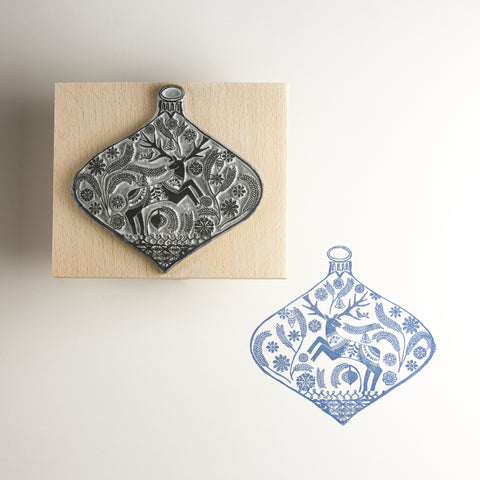 Christmas Bauble Rubber Stamps