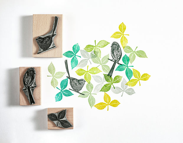 Eucalyptus Rubber Stamps, Bird Stamp, flower stamp, craft stamps.