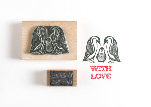 Penguins Rubber Stamps