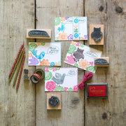 Speech Bubble Rubber Stamps