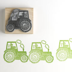 Tractor Stamp