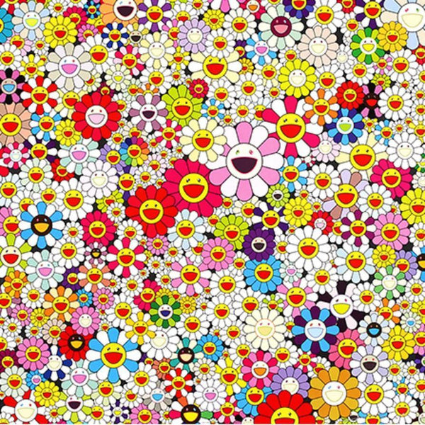 Takashi Murakami, Flowers in Heaven, 2010 - Lougher Contemporary